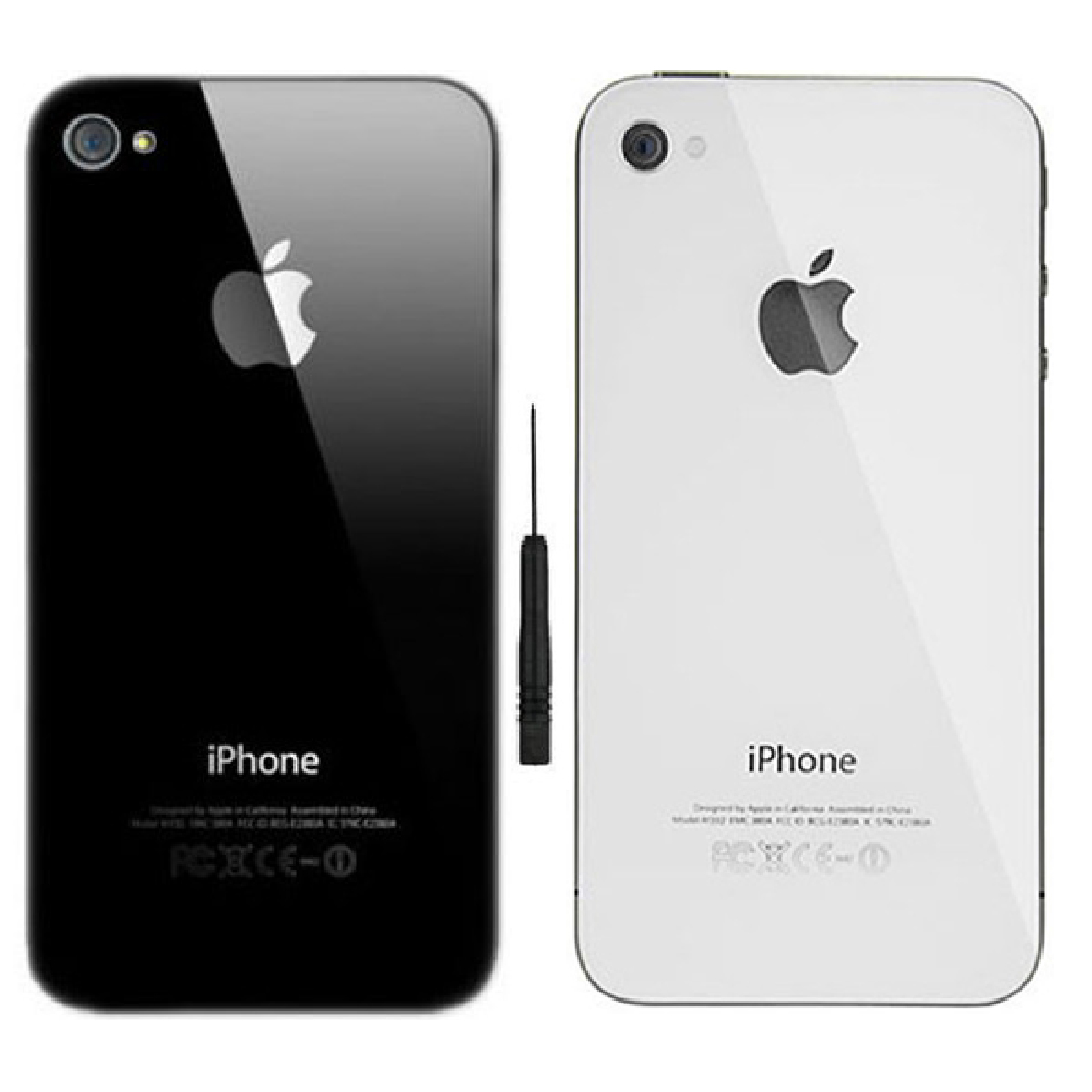 Replacement Rear Glass For Iphone 4 Amp 4s