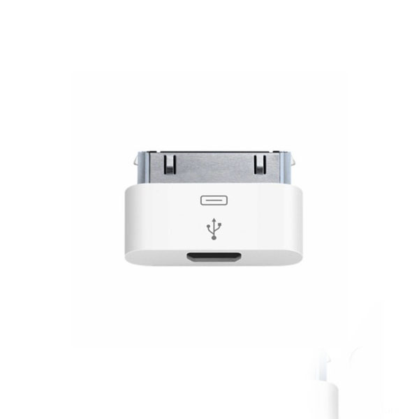 Official Apple Micro Usb To 30 Pin Adapter Md099zm A
