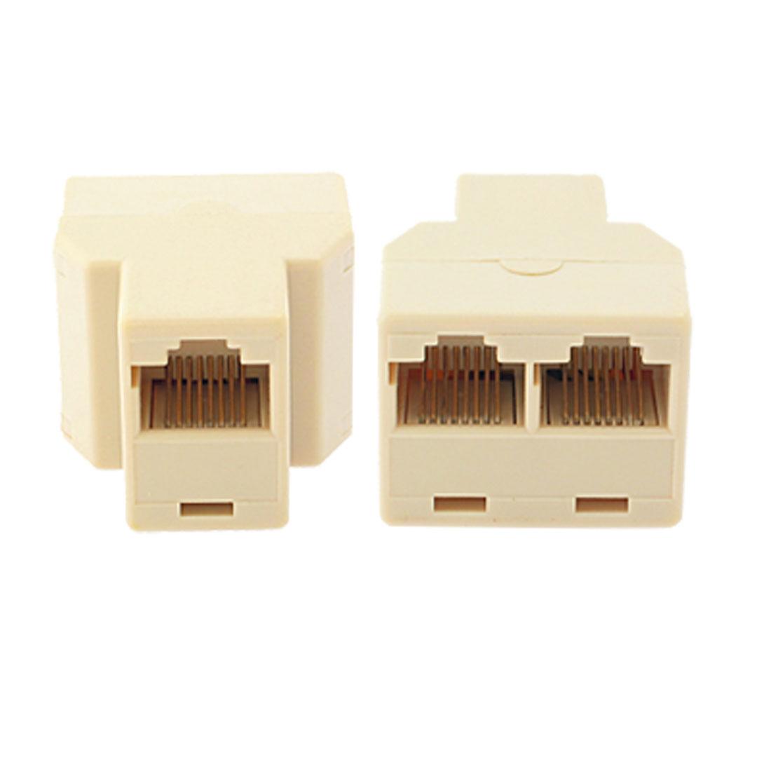 3 Port Rj45 Network Splitter