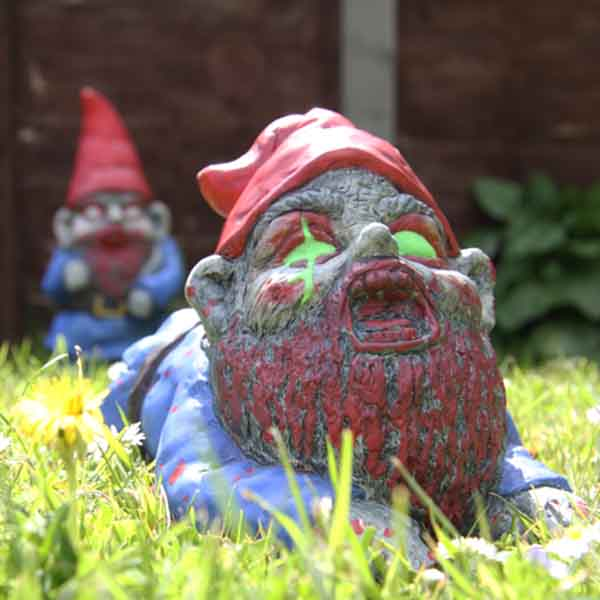 Gnome In Garden: ThumbsUp! Zombie Garden Gnomes ZOMBGNOM ZOMBGNOMCRA