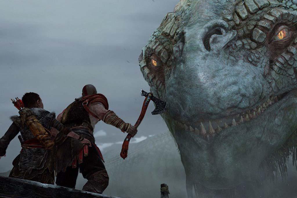 Jormungandr is finally playable - God of war jormungandr ...