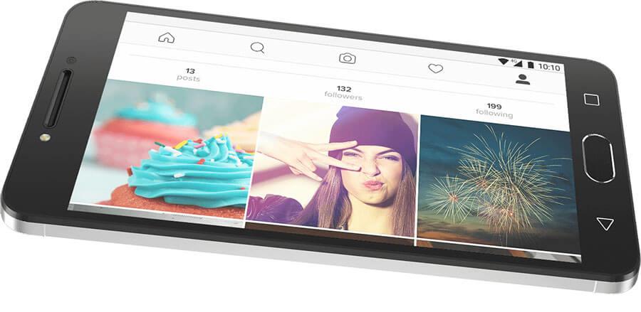 alcatel a5 led display screen 5.2 inch smartphone