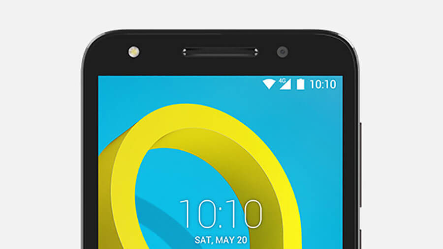 alcatel u5 smartphone display screen
