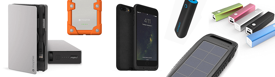 Power Banks and Portable Chargers