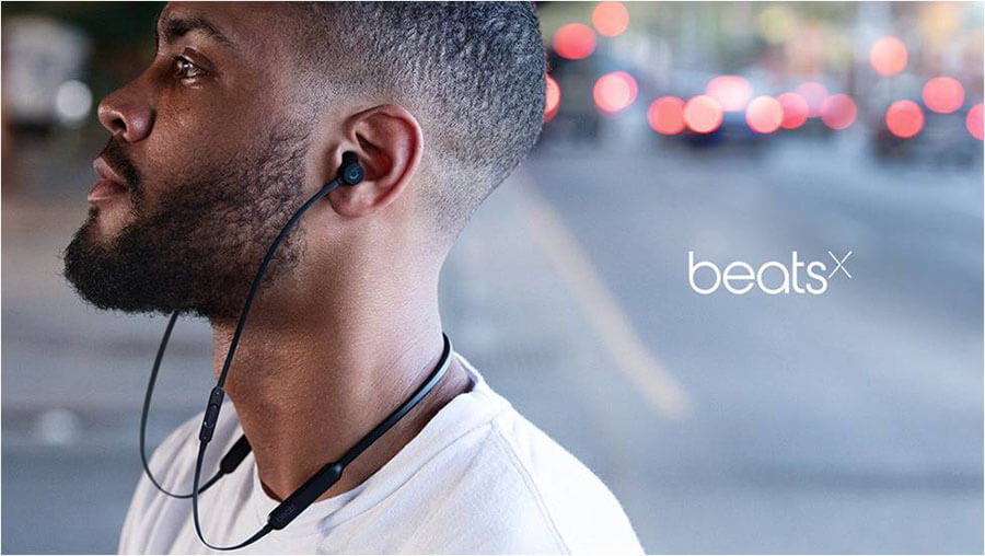 Beats X by Dre – In-Ear Wireless Bluetooth Gym Earphones