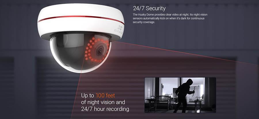 EZ Viz C4S Dome security camera