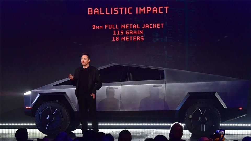 Elon Musk Cybertruck Fail