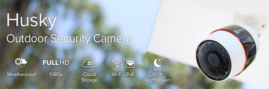 EZVIZ C3S Husky 1080p Outdoor Security Camera