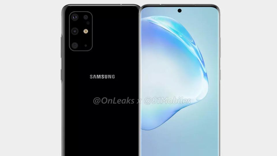 Image of the new Galaxy S11 Design Leak