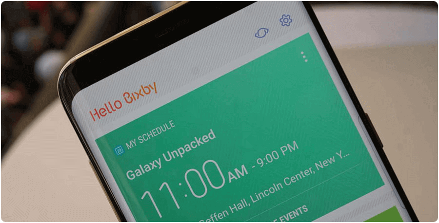 Samsung Galaxy S8 Bixby AI Assistant