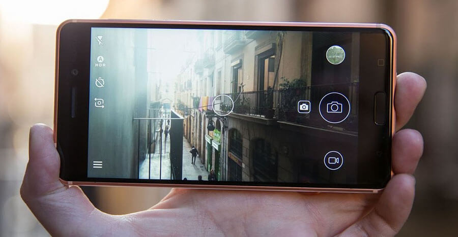 nokia 5 rear camera picture android smartphone