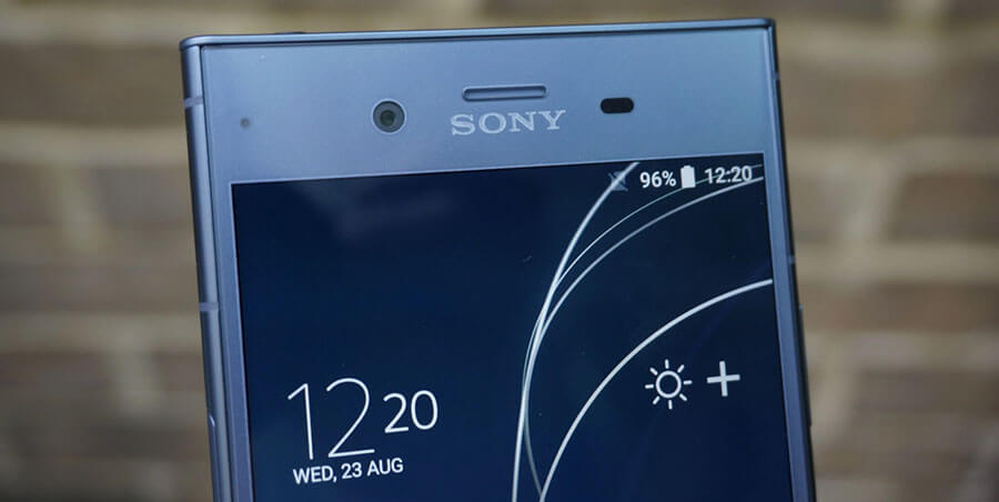 sony xperia xz1 display screen