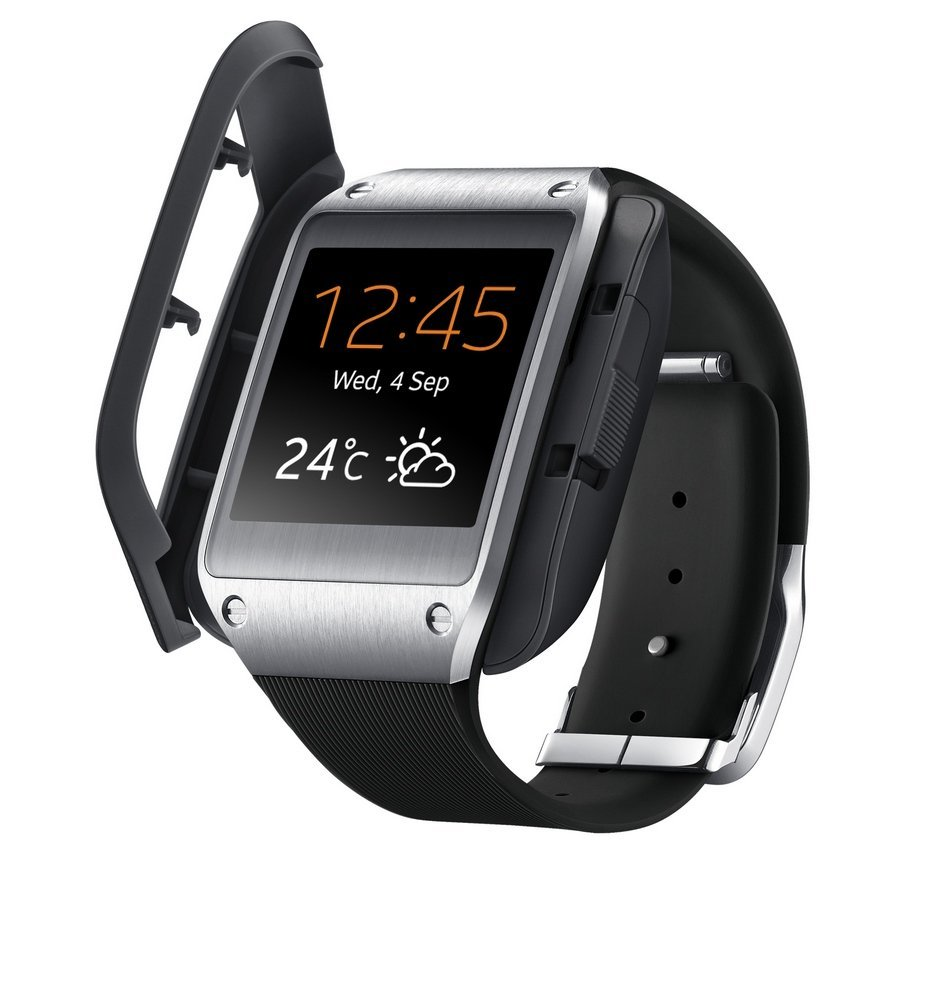 samsung smv700 galaxy gear smart watch jet black