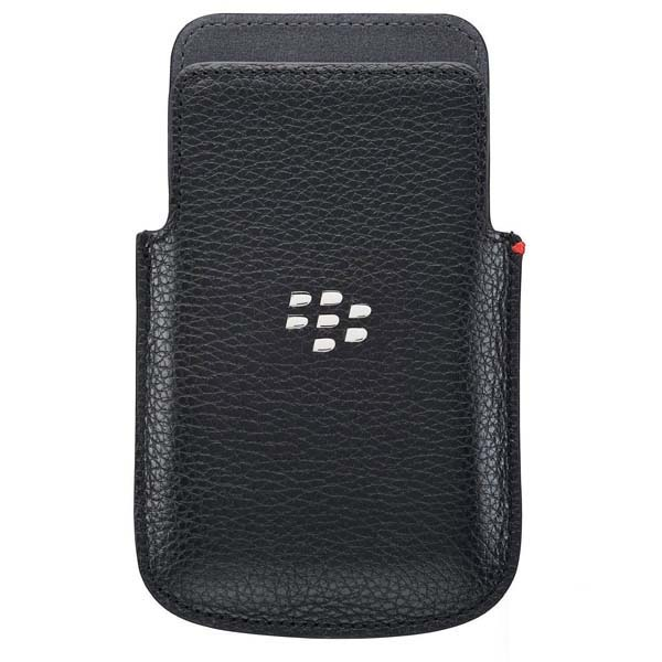 Genuine Blackberry Leather Pocket Pouch Case Cover For Q5
