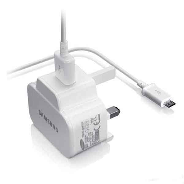 Genuine Samsung 2  Charger on usb audio adapter
