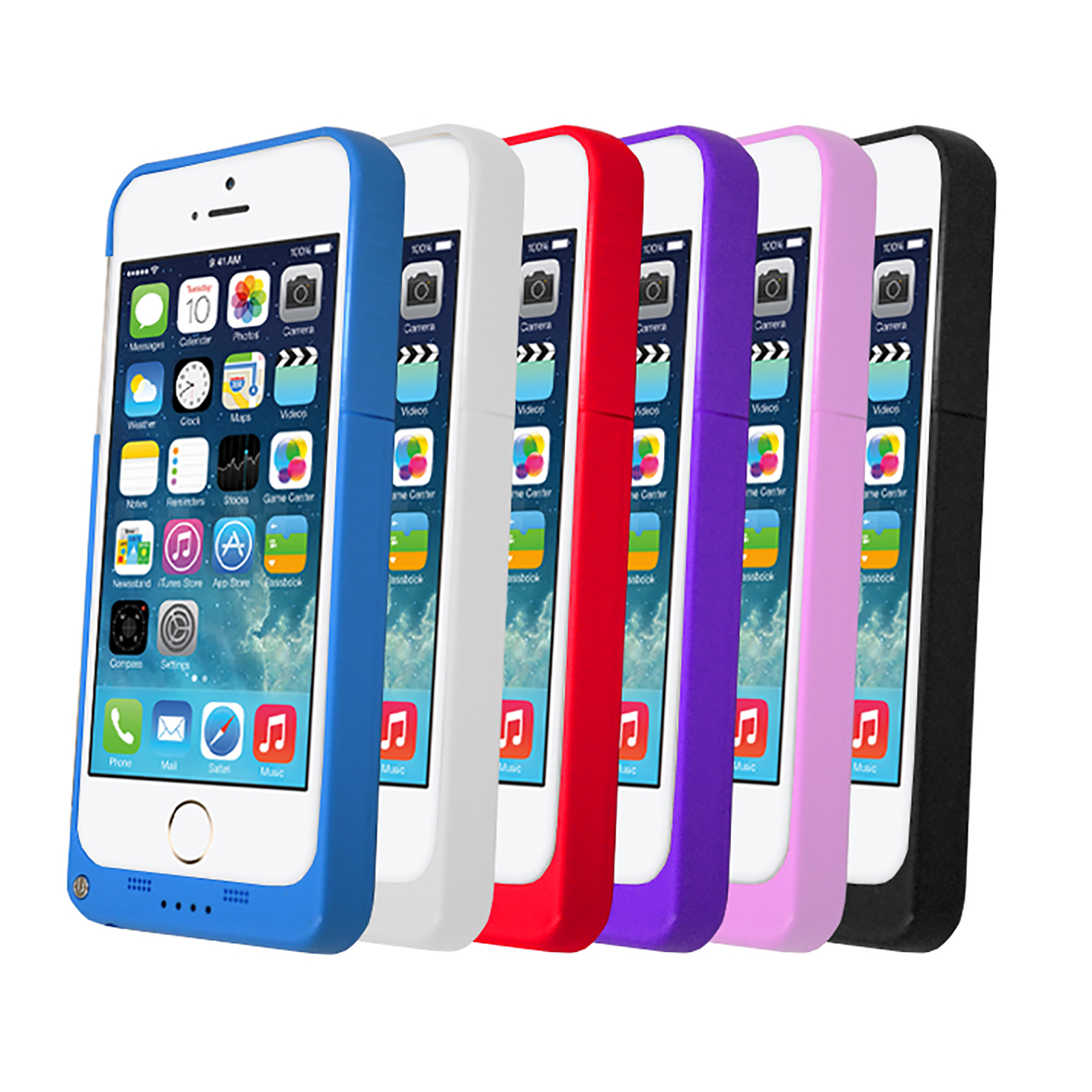 Portable Charging Case For Apple Iphone 5
