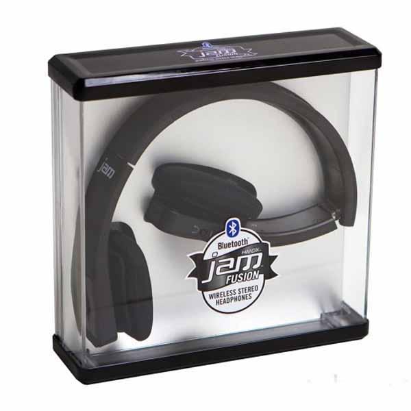 HMDX Jam Fusion Wireless Bluetooth Headphones | Black HX-HP610BK-EU