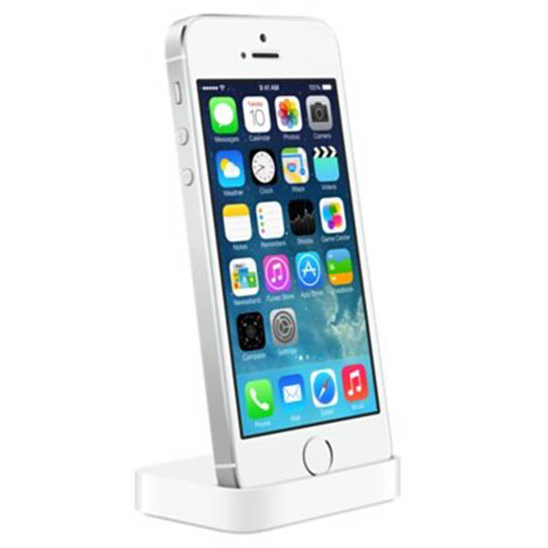 Genuine Apple Lightning Dock For Iphone 5 5s White Mf030zm A