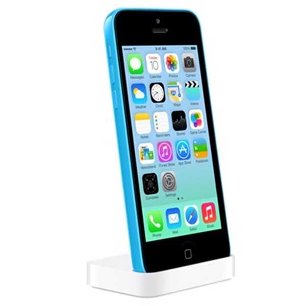 Genuine Apple Lightning Dock For Iphone 5c White Mf031zm A