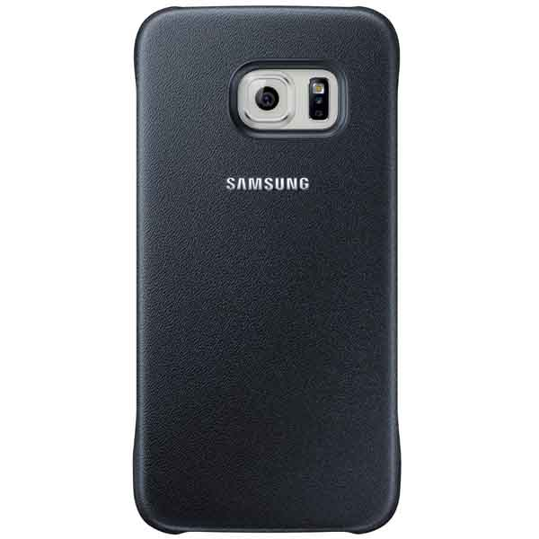 online store 03109 f42ff Official Samsung Galaxy S6 Flat Black Protective Cover