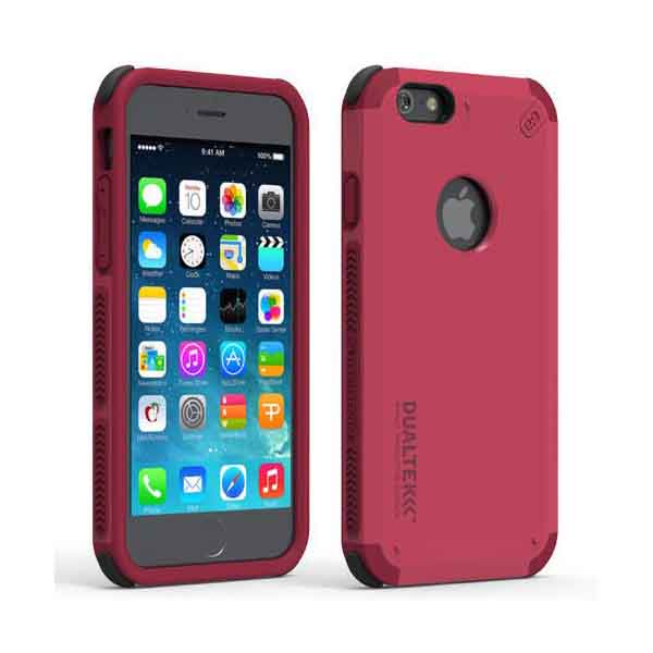 outlet store a0d89 e5908 PureGear DualTek Extreme Shock Case For iPhone 6/6S - Pink