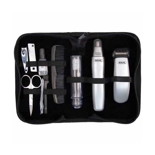 wahl travel grooming kit. Black Bedroom Furniture Sets. Home Design Ideas