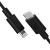 Griffin USB-C To Lightning MFi Certified Cable - 1.8m   Black