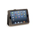 Griffin Leather iPad Mini Folio Case Folded