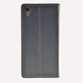sony xperia x leather case flip book back