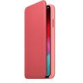 Official Apple Leather Folio Case | iPhone XS Max | Peony Pink