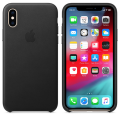 Apple Natural Leather Case - iPhone Xs - Black
