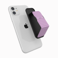CLCKR Universal Grip and Stand - Pebble Lines Lilac
