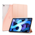 ESR Rebound Soft Shell Case and Smart Cover - iPad Air 2020 (4th Gen)   Rose Gold
