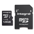 Integral Micro SD Card - 128GB -With adapter