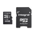Integral Micro SD Card - 32GB - With Adpater