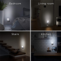 Integral LED Motion Sensor Night Light with Auto Dusk til Dawn