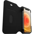 Otterbox Strada Via Folio Impact Case - iPhone 12 Mini   Black
