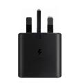 Official Samsung 25W USB-C Fast Charging Plug - Black