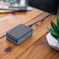 Ventev 6 Port USB Hub - Black