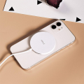 iWalk 15W Magnetic Wireless Charger - MagSafe Compatible | White