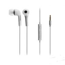 Genuine Samsung Headphones with Mic in White