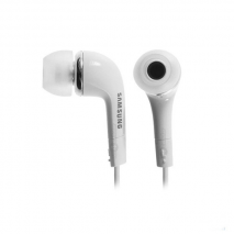 Genuine Samsung Headphones with Mic in White | Earphones