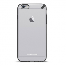 PureGear Slim Shell 6 Plus - Clear & Black