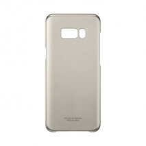 Samsung Galaxy S8+ Clear Cover - Gold