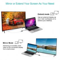 Choetech USB-C to HDMI Adapter | Black - 4K UHD