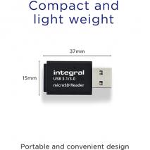 Integral USB 3.1 MicroSD Card Reader | Micro SD/HC/XC