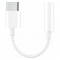 Official Huawei 3.5mm to USB-C Adapter | White