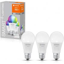 LEDVANCE Smart+ WiFi Bulb 60W E27 - Multicoloured - 3 Pack