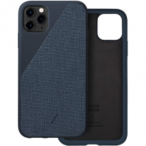 Native Union Clic Canvas Case iPhone 11 Pro Max - Indigo