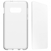Otterbox Clearly Protected Case & Alpha Glass - Galaxy S10e | Clear